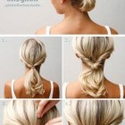 Easy updos for thin hair