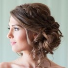 Formal updos for long thick hair