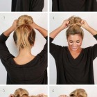 Hair style at home for medium hair