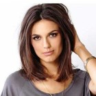 Hairstyles for straight shoulder length hair