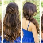 Long hair easy styles