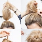 Quick everyday hairstyles for long hair