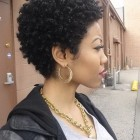 Short curly cuts for black women