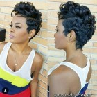 Short hairstyle for black girl