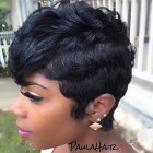Short hairstyles for women for black women