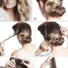 Updos for straight long hair