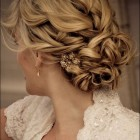 Wedding updos for long thick hair