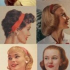 1950 hairstyles for long straight hair