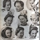 1950s hats and hairstyles