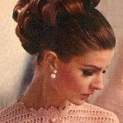 1960s updo hairstyles