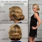 20s updo hairstyles