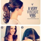 50s hairstyles ponytail