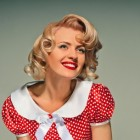 50s pin up hair