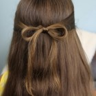 An easy hairstyle