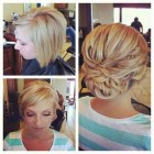 Bob hair updo ideas