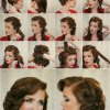 Classic vintage hairstyles