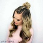 Cute hairstyles easy and fast