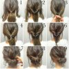 Cute quick updos for short hair