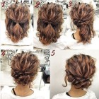 Cute short updo hairstyles
