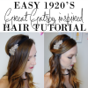 Easy 1920s hairstyles