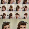 Easy 1950s hairstyles for long hair