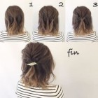 Easy and beautiful hairstyles for short hair