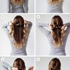 Easy and simple hair style