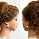 Easy bun hairstyles for short hair