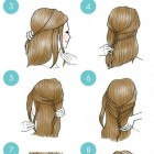 Easy but nice hairstyles