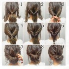 Easy hairstyles for medium short hair