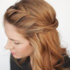Easy made hairstyle