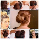 Easy making hair style