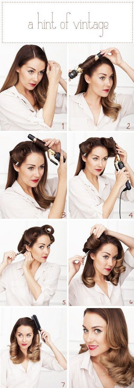 Easy old fashioned hairstyles