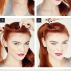Easy vintage hairstyles for medium hair