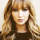 Front bangs hairstyle