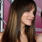 Hair cut style with bangs