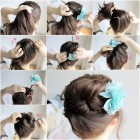 Hair style easy to make