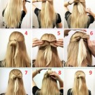 Hairstyle easy step