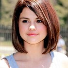 Hairstyle for girls round face