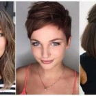Hairstyles for hair with bangs