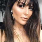 Hairstyles for people with bangs