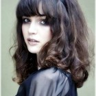 Ladies hairstyles with bangs