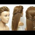 Nice and simple hairstyles
