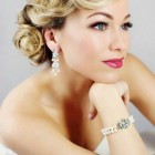 Old hollywood glamour hair updo