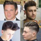 Professional haircut for round face