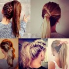 Really cute and easy hairstyles
