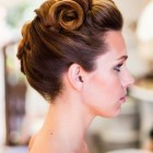 Retro updo hairstyles