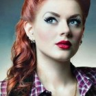 Rockabilly hair