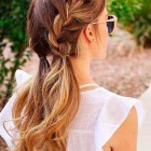 Simple but cute hairstyles
