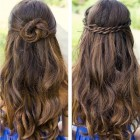 Simple but pretty hairstyles